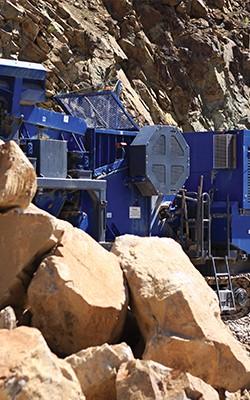 quarry, mining + recycling